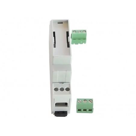 Cajas rail DIN estándar de anchuras 18, 36 y 106 mm