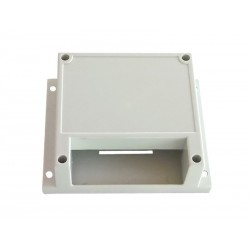 Box DIN rail and panel for electronics