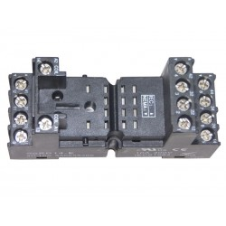 DIN Rail Socket 2 and 4 contacts for MYK relay type