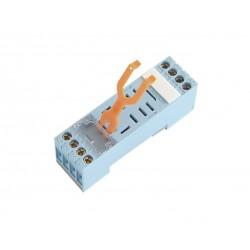 Base Rail DIN 2 y 4 contactos para reles  MYK