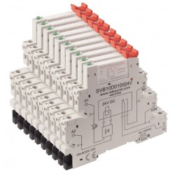 pack 10 relays plus 10 sockets (MOQ 250 pcs)