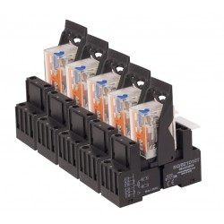 pack 10 relays + 10 sockets