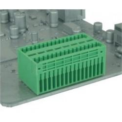 Conector  sistema europeo 2 polos paso 2,5 macho