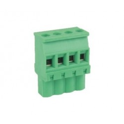 Conector soldable o enchufable para pcb
