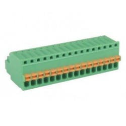 Conector rápido soldable o enchufable para pcb