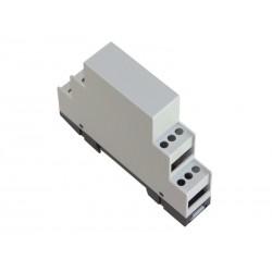 Caja carril DIN con accesorios