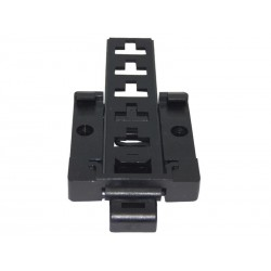 DIN Rail adjustable anchor for wall boxes